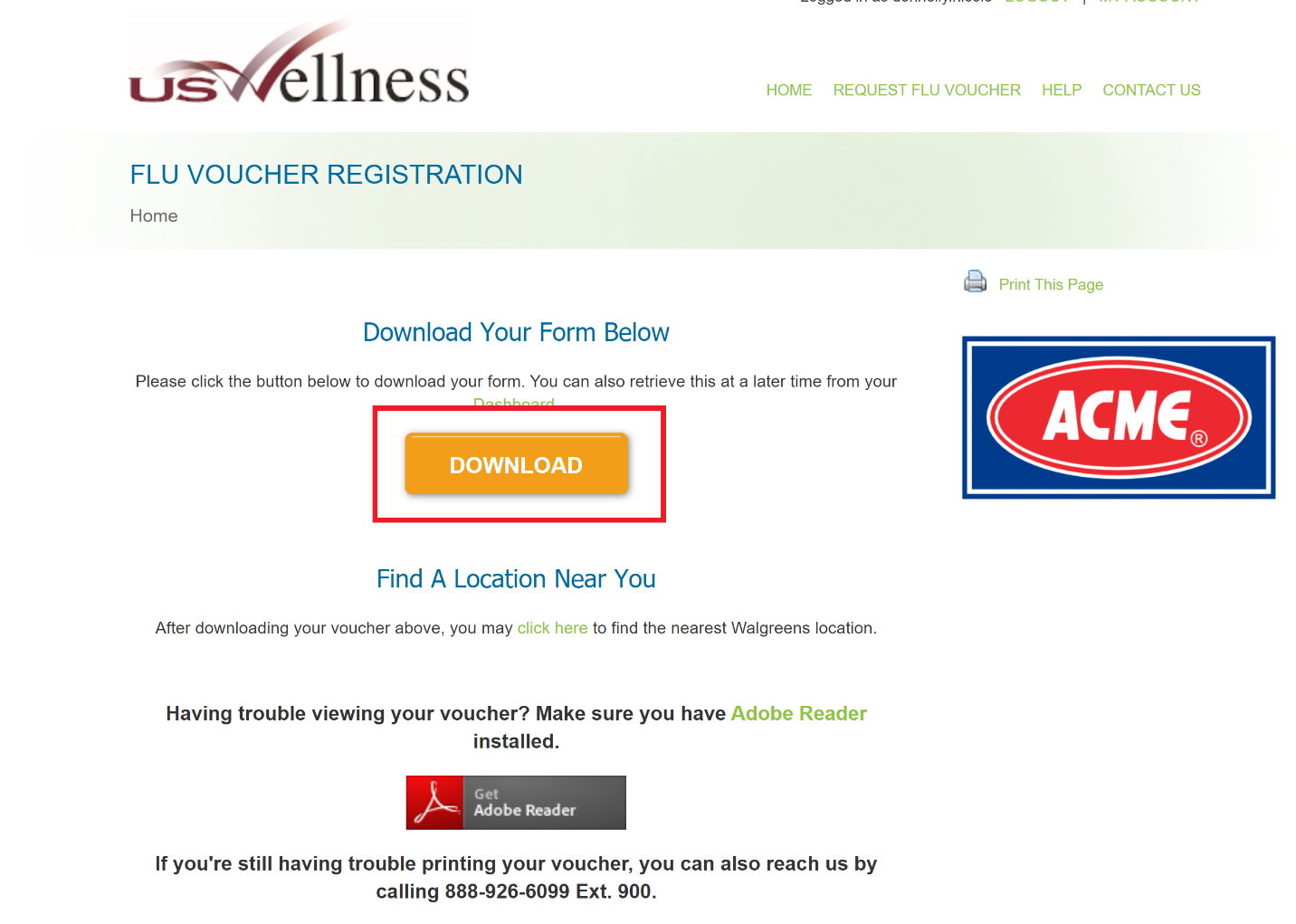 Flu Voucher Program: Step 5